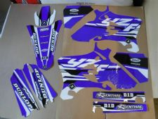 New YZF 250 450 03 04 05 PTS4 Graphics Sticker Decals Kit Enduro Motocross
